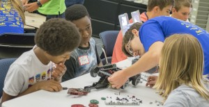 Sharing STEM through camps and outreach